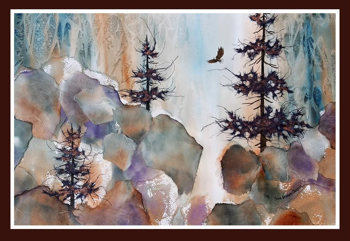 Flying Free painting by Sue Brown Chapin
